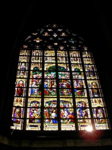 Church Window in Belgium (Gent)