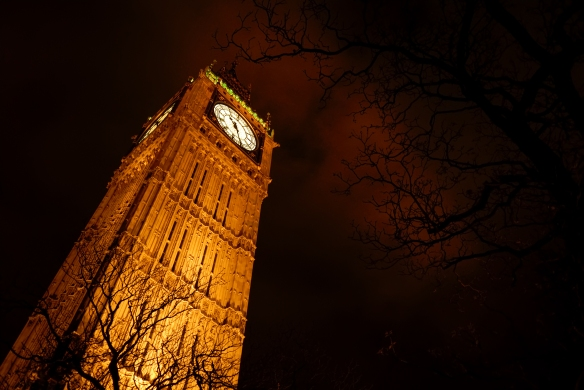 LONDON - BIG BEN - NIGHT
